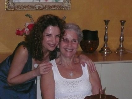 Heidi Layton with her mother, Fritzi Thorner