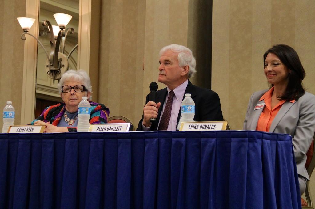 Kathy Ryan, Allen Bartlett, Erika Donalds