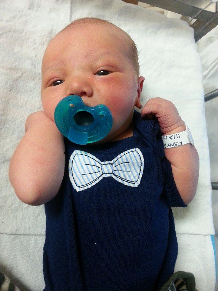 Newborn Alec Fisher