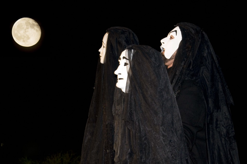"""Mark Vanagas as The Witches in """"Macbeth, A Love Story."""" (2011)"""